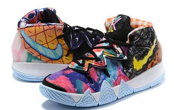 """The strongest mandarin duck coloring Kyrie S2 """"What The"""" has been released."""