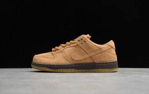 Cheap Sale Nike SB Dunk Low Pro Wheat Mocha for Black Friday