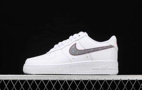 Buy Nike Air Force 1 x 3M CT2296-100 White Logo Reflective White