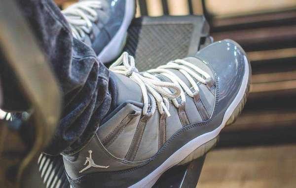 "Air Jordan 11 ""Cool Grey"" Medium Grey/White-Cool Grey CT8012-005 2021 Hot Sell"