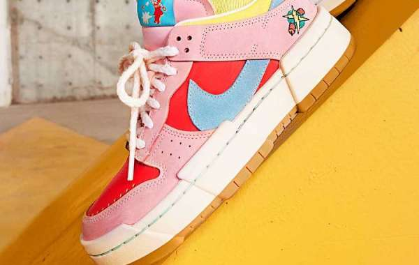 "Latest 2021 Nike Dunk Low Disrupt ""Firecracker"" official images"