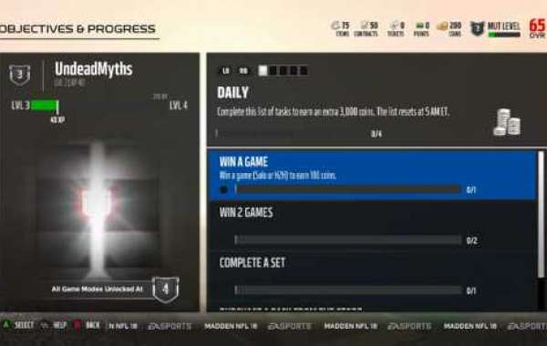 Madden 21 has also had a UI overhaul
