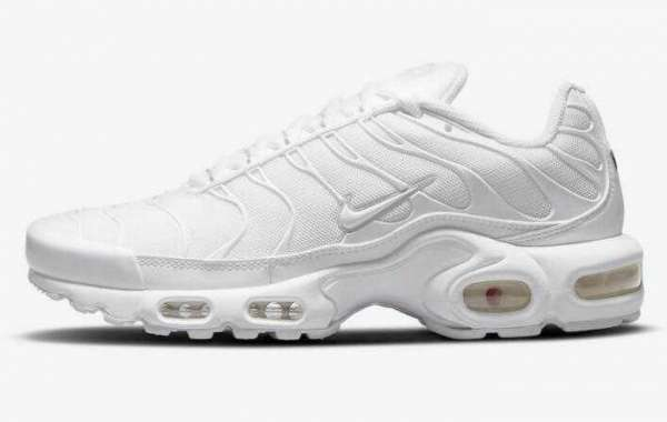 "Newest Nike Air Max Plus ""Triple White"" Dropping For The Summer"