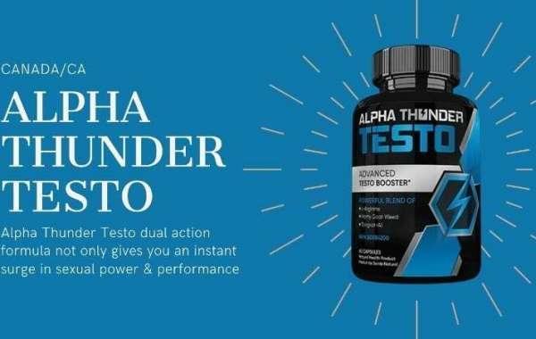 Rétablir la testostérone avec Alpha Thunder Testo:
