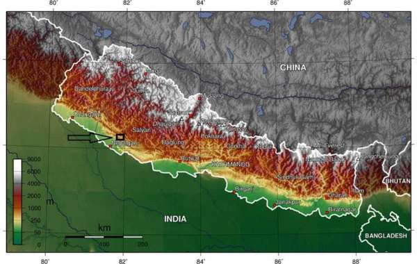 The Himalayas are the highest and most majestic mountain range in the world