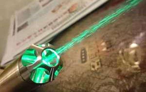 Application of green laser
